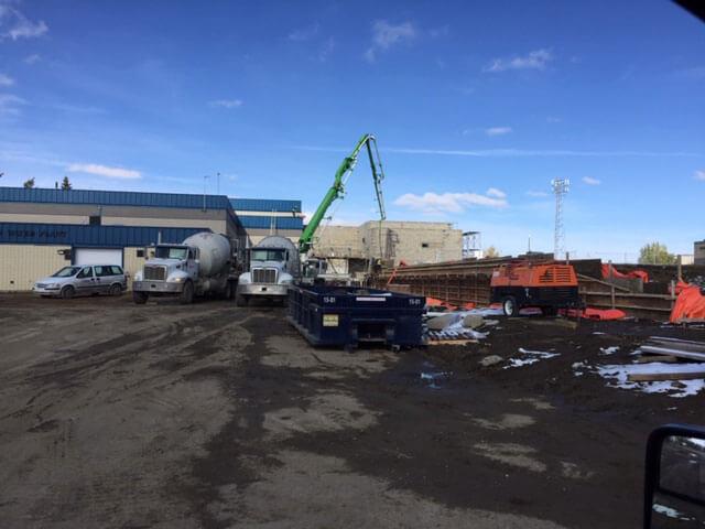 Weyburn water treatment plant